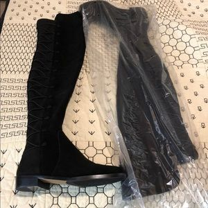 Vince Camuto Suede Thigh High Boots NWOT